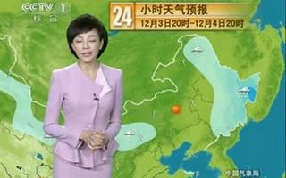 CCTV1天气预报